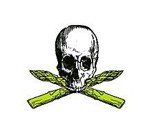 asparagus pirate Photographic Print