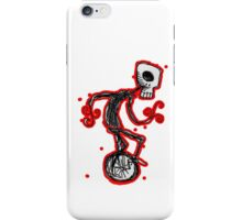 cyclops on a unicycle iPhone Case/Skin
