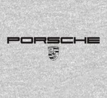 Porsche Lettering and Badge by morph99