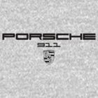 Porsche 911 Lettering and Badge by morph99