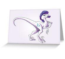 Raptor Rarity Greeting Card