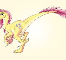 Raptor Fluttershy by CherryGarcia