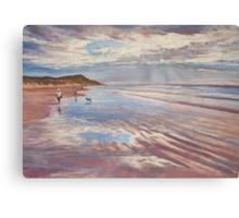 Torquay Back Beach Canvas Print