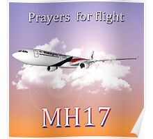 MH17 (Prayers)  Poster