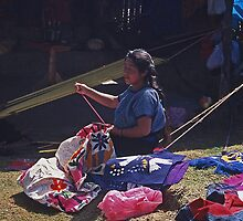 Textile artists, Mexico by Maggie Hegarty