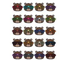 Colourful Boss Bear Photographic Print