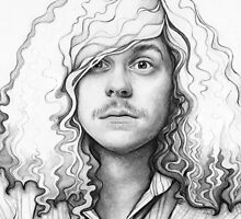 Blake Anderson Workaholics Portrait Art Drawing by OlechkaDesign