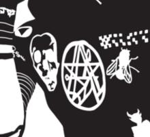 DEATH GRIPS / MC RIDE Sticker