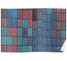 Container Tetris Poster