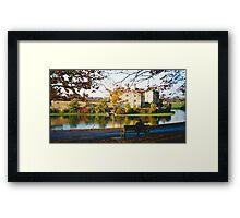 Autumn at Leeds Castle, Kent UK Framed Print