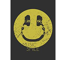 Music Smile Photographic Print