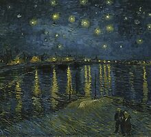 Starry Night Over the Rhone by Van Gogh by artmuseum