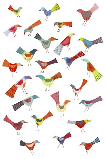 Birds doing bird things by Nic Squirrell