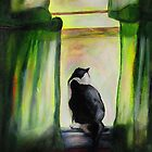 Kuzak, The Black & White Cat by hickerson