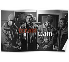 Illmatic Dream Team - Nas, DJ Premier, Q-Tip, Large Professor Poster