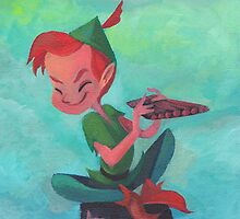 Story time with Peter Pan by UnderArt
