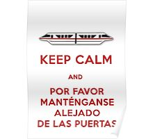 Monorail- Keep Calm (Red) Poster