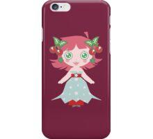 Cute Cherry Girl iPhone Case/Skin