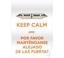 Monorail- Keep Calm (Orange) Poster