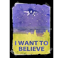 Dude I Want To Believe 14 Photographic Print