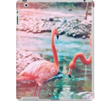 Exotic flamingos iPad Case/Skin