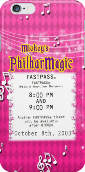 Mickey's Philharmagic Fastpass by Margybear