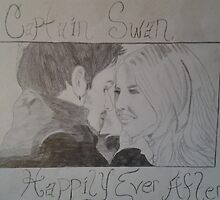 Captain Swan Drawing by CHopeFallen