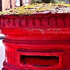 Red Post Box - London by crashbangwallop