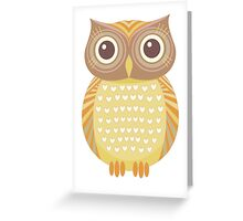 One Friendly Owl Greeting Card