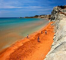 "Xi, the ""Red"" beach - Kefalonia island by Hercules Milas"
