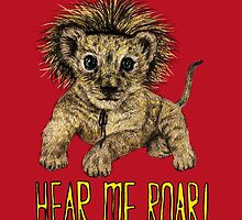 Hear me Roar! // lion by AnnaShell