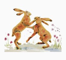 Boxing Hares T-Shirt