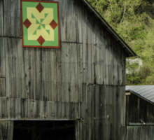 Kentucky Barn Quilt - 3 Sticker