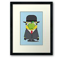 Magritte Minion Framed Print