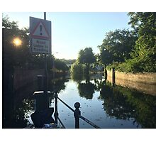 Liable to Flooding Photographic Print