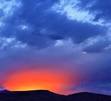 Winnemucca Sunset 2014 by DonActon