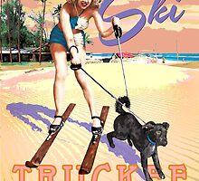 Ski Truckee! by Barbee Teasley