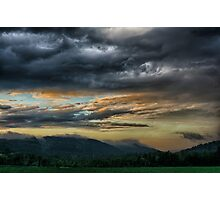 Passing Storm Photographic Print
