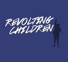 Revolting Chlidren t-shirt by grcekang