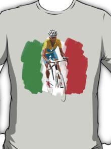 Maillot Jaune , Italy Flag T-Shirt