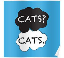 Cats? Cats. Poster