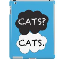 Cats? Cats. iPad Case/Skin