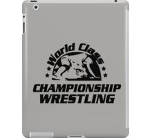 World Class Championship Wrestling (WCCW) iPad Case/Skin