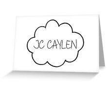 Jc's cloud  Greeting Card