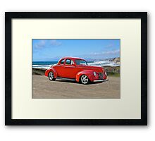 1940 Ford 'Red' Coupe Framed Print