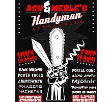 Ash & Merle's Handyman Appliances Photographic Print