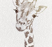 The Intellectual Giraffe by Paula Belle Flores