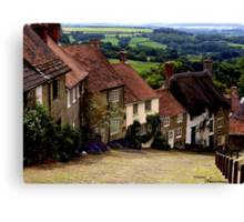 Gold Hill - Dorset Canvas Print