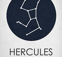 HERCULES - Constellations  by Hydrogene