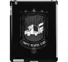 Empty Hearse Club iPad Case/Skin